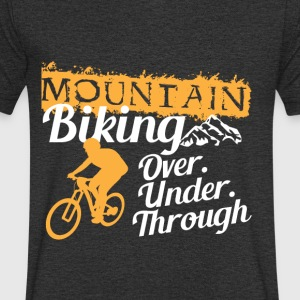 Mountainbike - Men's V-Neck T-Shirt