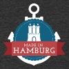 Made in Hamburg - Männer Bio-T-Shirt mit V-Ausschnitt von Stanley & Stella