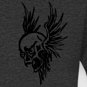 Flying Skull - Men's V-Neck T-Shirt