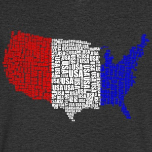 USA - Men's V-Neck T-Shirt