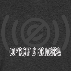 copyrighisforlosers - Men's V-Neck T-Shirt