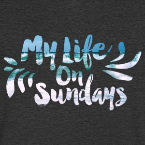 MY LIFE ON SUNDAYS. - Men's V-Neck T-Shirt