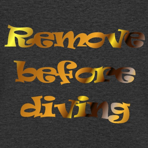 remove before diving - Mannen bio T-shirt met V-hals van Stanley & Stella