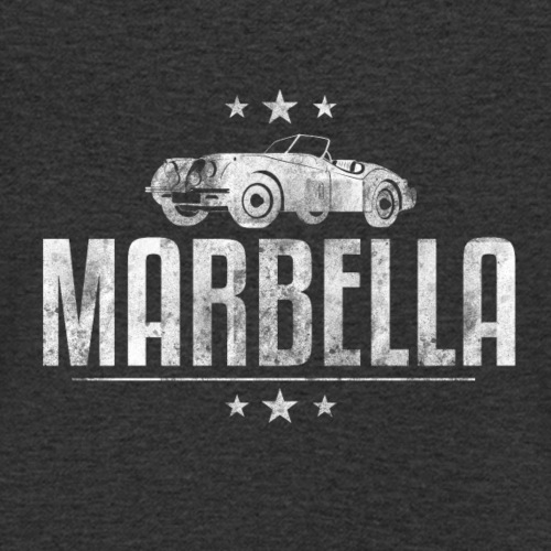 Marbella Vintage Car - Men's Organic V-Neck T-Shirt by Stanley & Stella