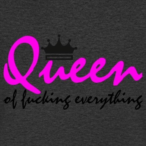 Queen of fucking everything - Männer Bio-T-Shirt mit V-Ausschnitt von Stanley & Stella