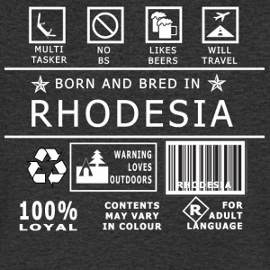 Rhodie Born N Bred - Men's V-Neck T-Shirt