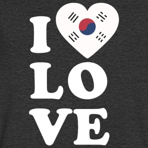 I love South Korea - Men's V-Neck T-Shirt