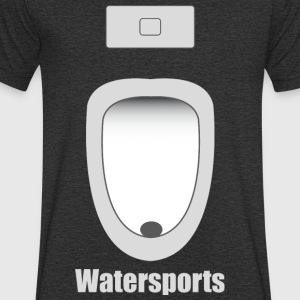 water Sports - Mannen T-shirt met V-hals