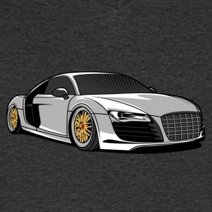 Low Racing CarR - Men's V-Neck T-Shirt