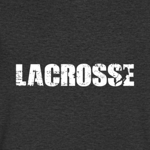 lacrosse - Men's V-Neck T-Shirt