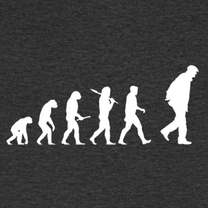 Evolution grand-père! - T-shirt Homme col V