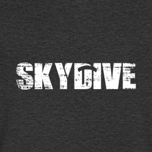 Parachuting - Skydive - Men's V-Neck T-Shirt