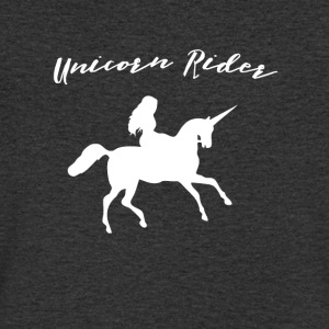 Unicorn - Unicorn Rider - Men's V-Neck T-Shirt