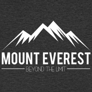 Everest Beyond the Limit - Koszulka męska Canvas z dekoltem w serek