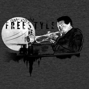 Freestyle Jazz - T-shirt med v-ringning herr