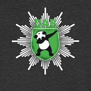 Dab coat of arms panda dabbing touchdown swag festival - Men's V-Neck T-Shirt