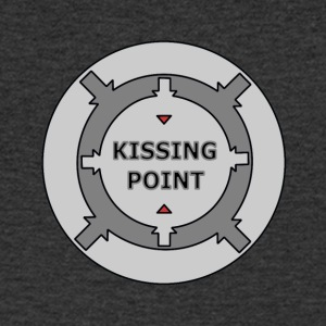 Kissing Point gray - Men's V-Neck T-Shirt