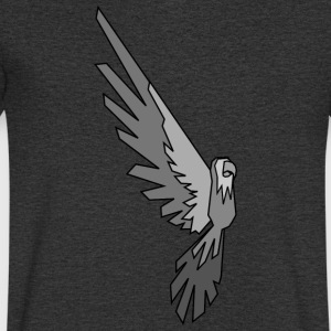 Parrot - Conner Conure Gray - Men's V-Neck T-Shirt