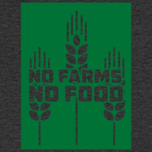 Farmer / Farmer / Farmer: No Farms, No Food - Men's V-Neck T-Shirt