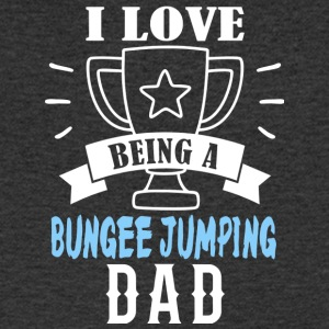 Bungee Jumping father - Men's V-Neck T-Shirt