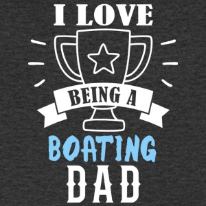 Boating papa - T-shirt Homme col V