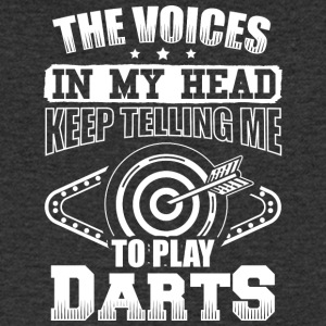 DART THE VOICES IN MY HEAD DARTS - Männer T-Shirt mit V-Ausschnitt