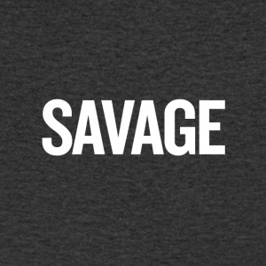 Savage White - Men's V-Neck T-Shirt