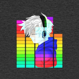 Electronic Music - Anime Guy - Mannen T-shirt met V-hals