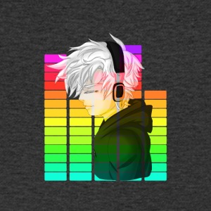 Electronic Music - Anime - Mannen T-shirt met V-hals