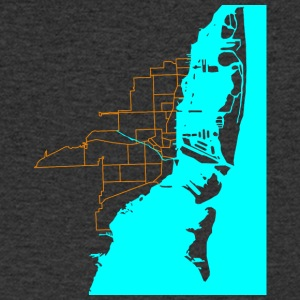 Miami - Men's V-Neck T-Shirt