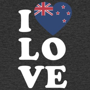 I love New Zealand - T-shirt Homme col V