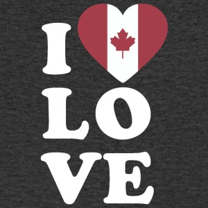 I love Canada - Men's V-Neck T-Shirt