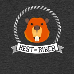 Beaver best great humor singer fan music just jubel - Men's V-Neck T-Shirt