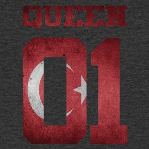 Queen 01 Turkey Türkiye Kardes Kiz - Men's V-Neck T-Shirt