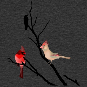 bird branch - Men's V-Neck T-Shirt