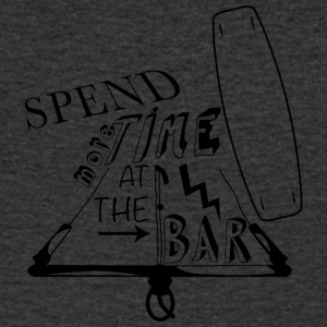 Spend more time at the bar - Men's V-Neck T-Shirt
