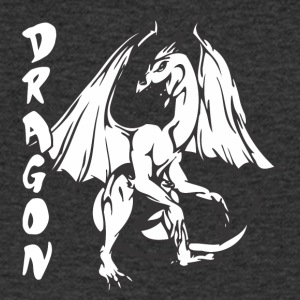 standing dragon - Men's V-Neck T-Shirt