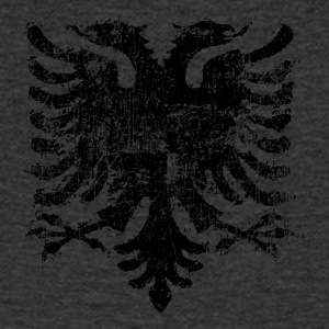 Vintage Albanian Eagle - Men's V-Neck T-Shirt