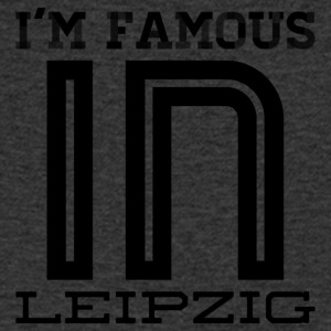 In the famous in leipzig - Men's V-Neck T-Shirt
