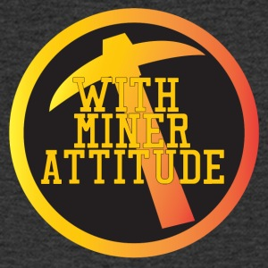 Mining Miner With Attitude - Men's V-Neck T-Shirt