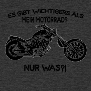 More important than motorcycle - what is it? - Men's V-Neck T-Shirt