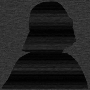 Darth Vader into strips - Men's V-Neck T-Shirt