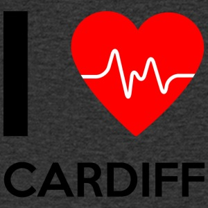 I Love Cardiff - I love Cardiff - Men's V-Neck T-Shirt