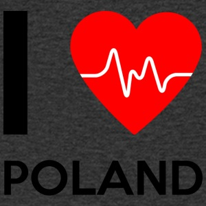 I Love Poland - I Love Poland - Men's V-Neck T-Shirt