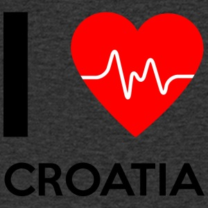 I Love Croatia - I Love Croatia - Men's V-Neck T-Shirt