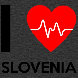 I Love Slovenia - I Love Slovenia - Men's V-Neck T-Shirt