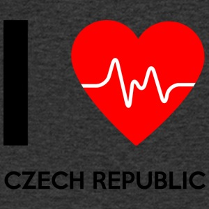 I Love Czech Republic - I Love Czech Republic - Men's V-Neck T-Shirt