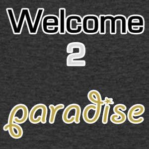 Welcome 2 paradise - Men's V-Neck T-Shirt