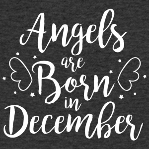 Angels are born in December - Men's V-Neck T-Shirt