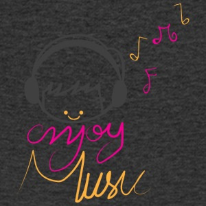 ENJOY MUSIC - Men's V-Neck T-Shirt
